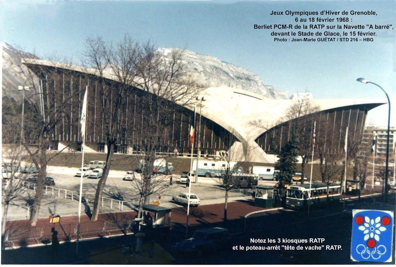 Les jeux Olympiques de Grenoble en 1968, un bouleversement architectural...