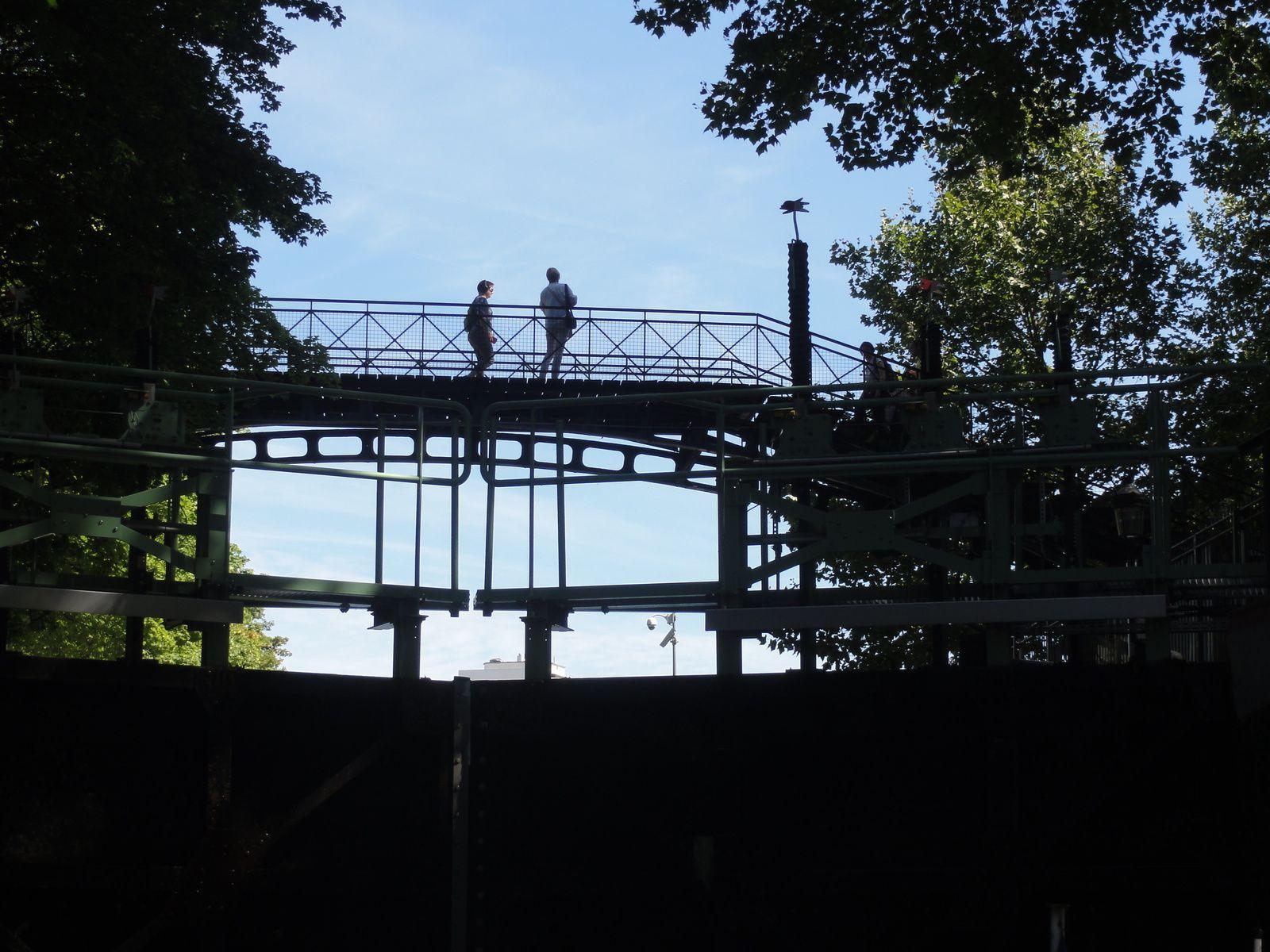 Balade sur le Canal Saint-Martin