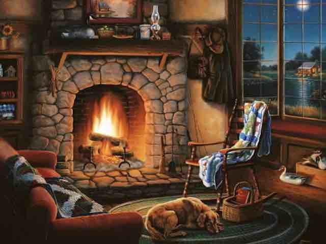 Fais du feu dans la cheminée – Michèle Freud