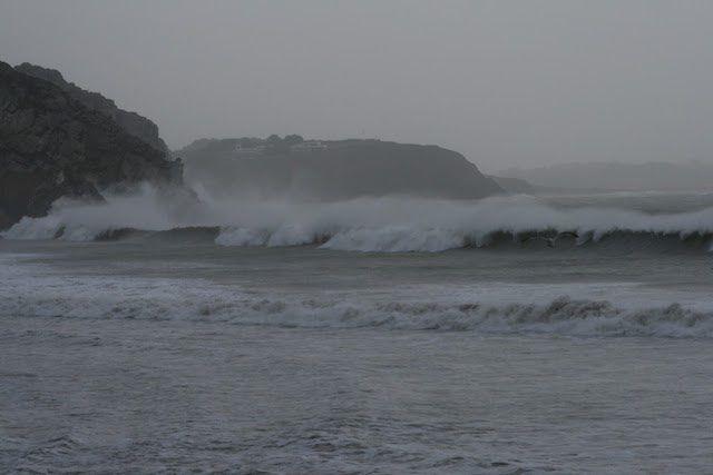 Tempête en baie de Morgat – Claire Prendkis