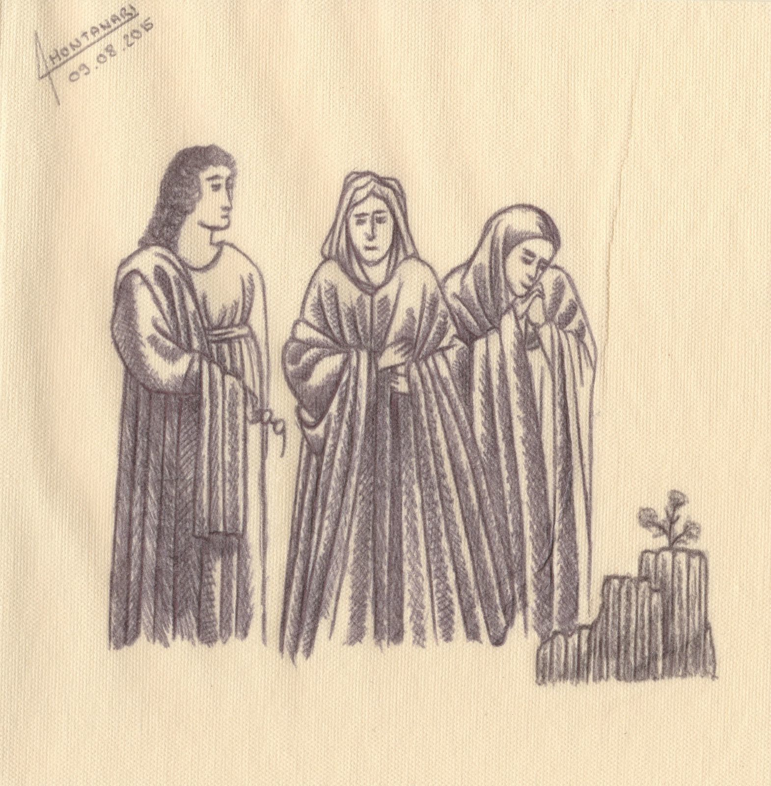 La Divine Comédie : Enfer, Chant II (97-102)