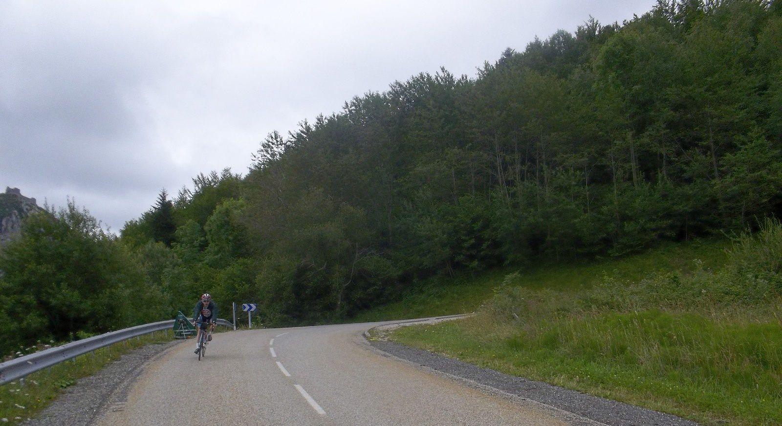 Un 200kms en compagnie d'Alex suivi d'une galère.....