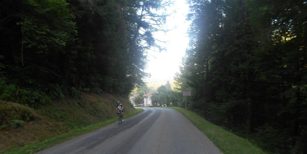 Quelques sorties après La Mountagnole mais sous le soleil.......