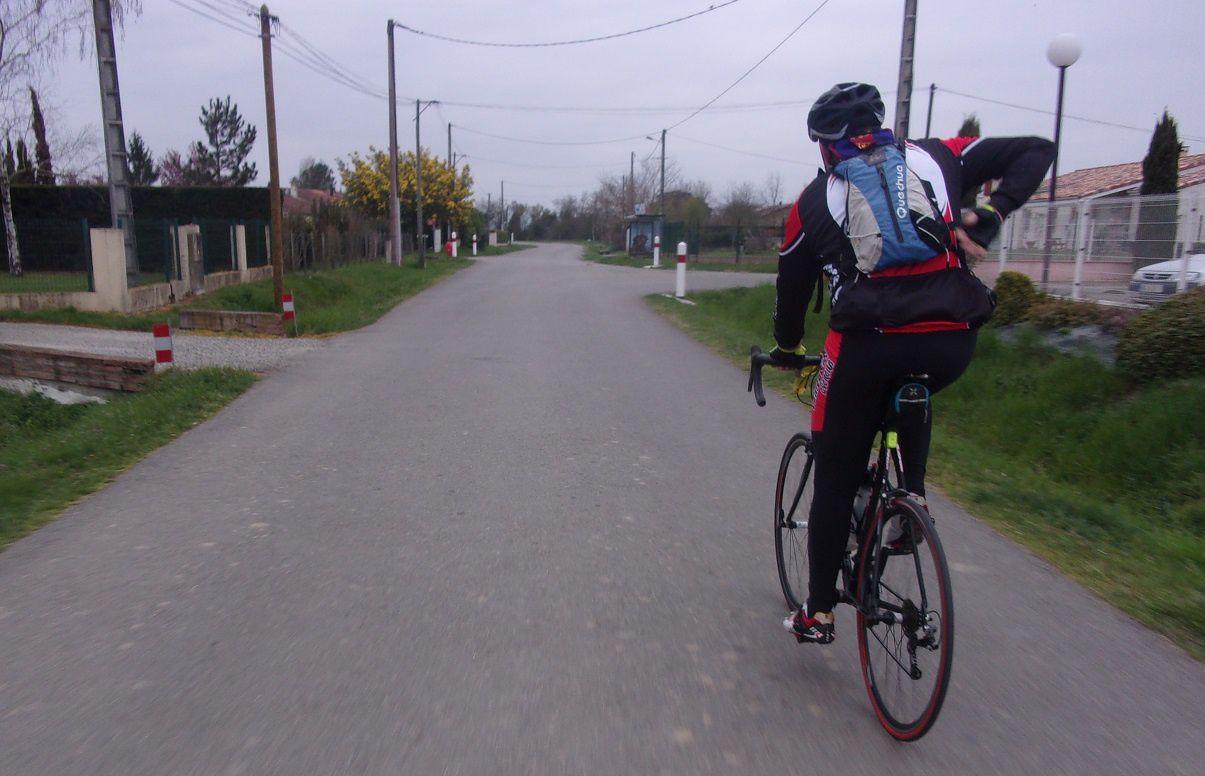 Objectif réussi : j'ai atteint mes 1000kms parcourus dans le mois