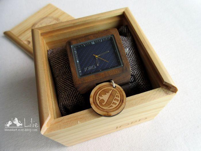 Jord Wood Watches : Montre en bois 100% naturel