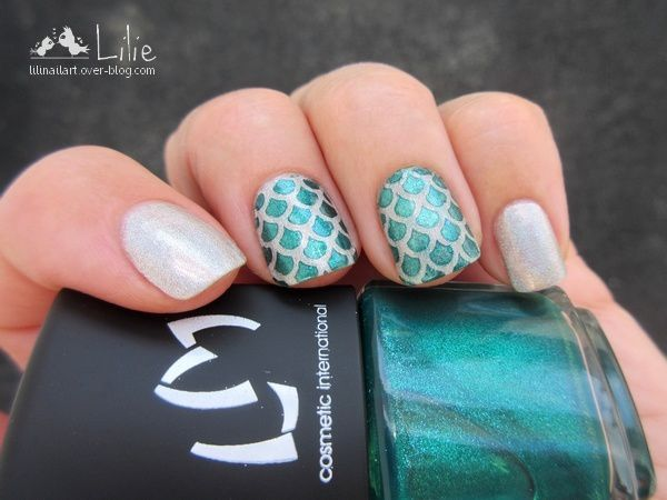 Nail Art Mermaid / Snail Vinyls