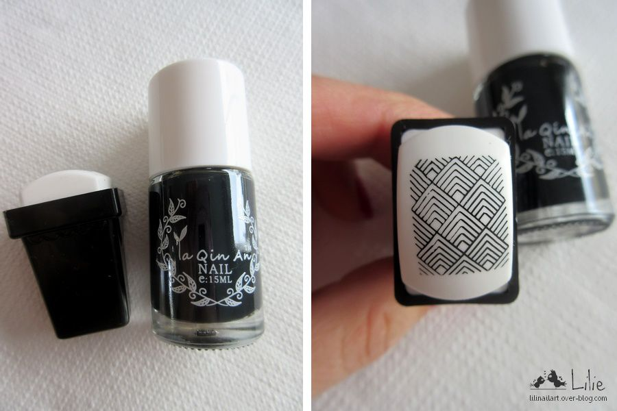 Gradient nail &amp&#x3B; Stamping Graphique
