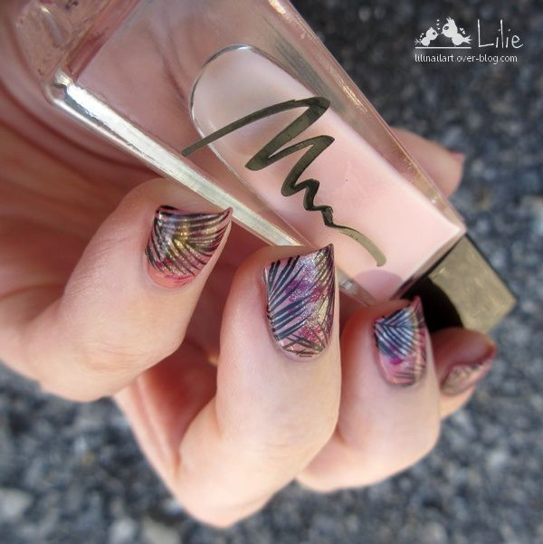 Nail Art inspiration Urban Jungle