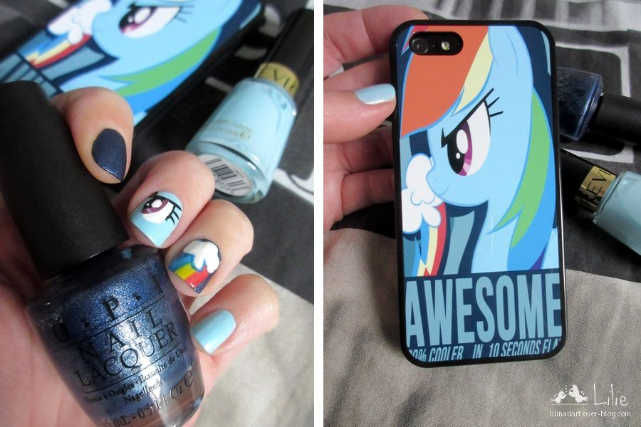 Nail Art My Little Pony &amp&#x3B; Creastyle.fr