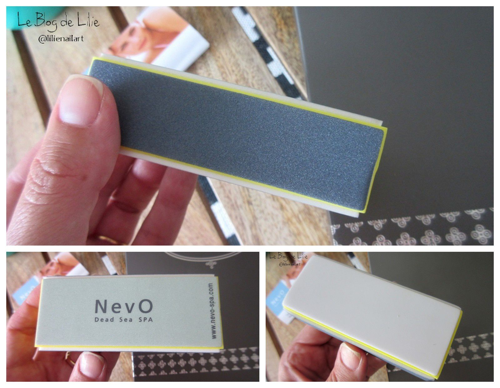 Deluxe Nail Care Kit by NevO - Dead Sea SPA