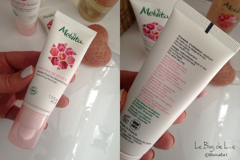 Ma routine Melvita Nectar de Roses