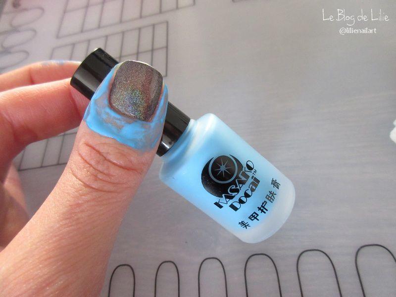 Nail Art Stamping Arabesques - Harunouta