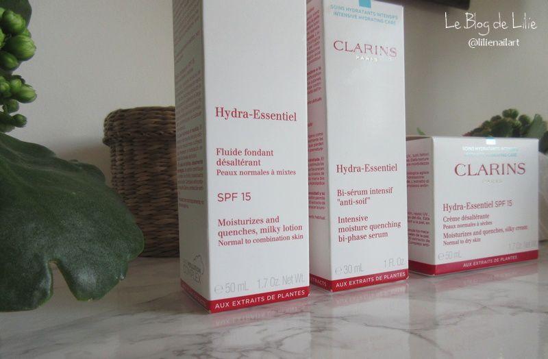 Nouveaux Soins Hydra-Essentiel - Clarins