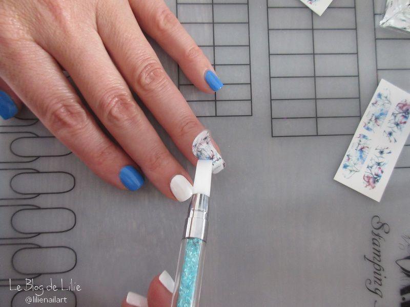 Nail Art Effet Marbre // CEV Nail Polish &amp&#x3B; Née Jolie