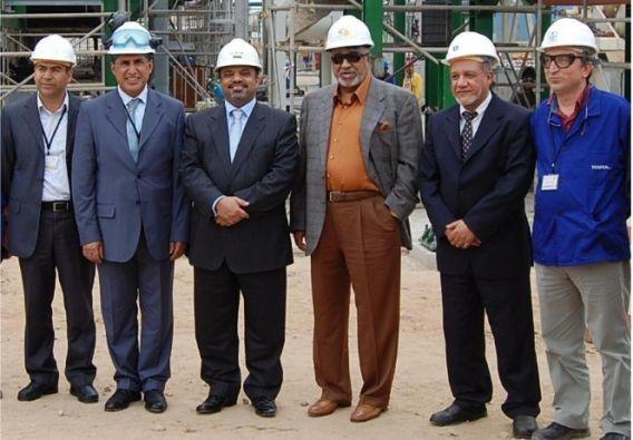 De gauche à droite : 3e Ba-Amer, 4e Al Amoudi, à la Samir le 6/12/12.