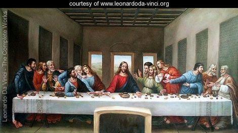 """The Last Supper"" de  Leonardo da Vinci"