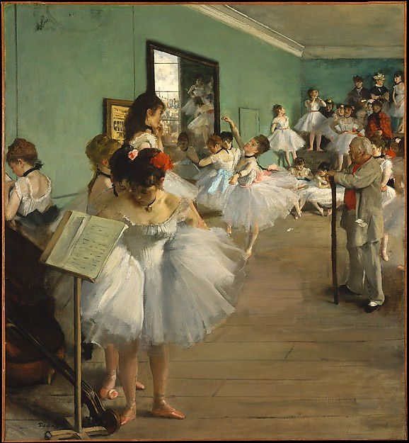 """The Dance Class"" (1874) de Edgar Degas"