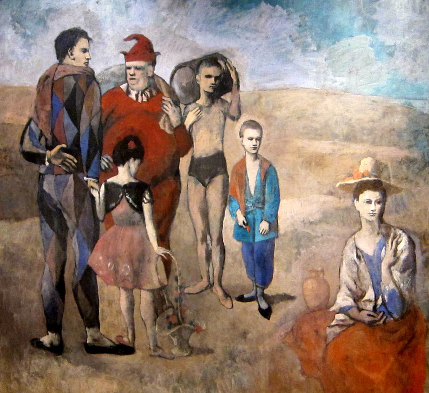 """ Family of Saltimbanques"" (1905)  de Pablo Picasso"