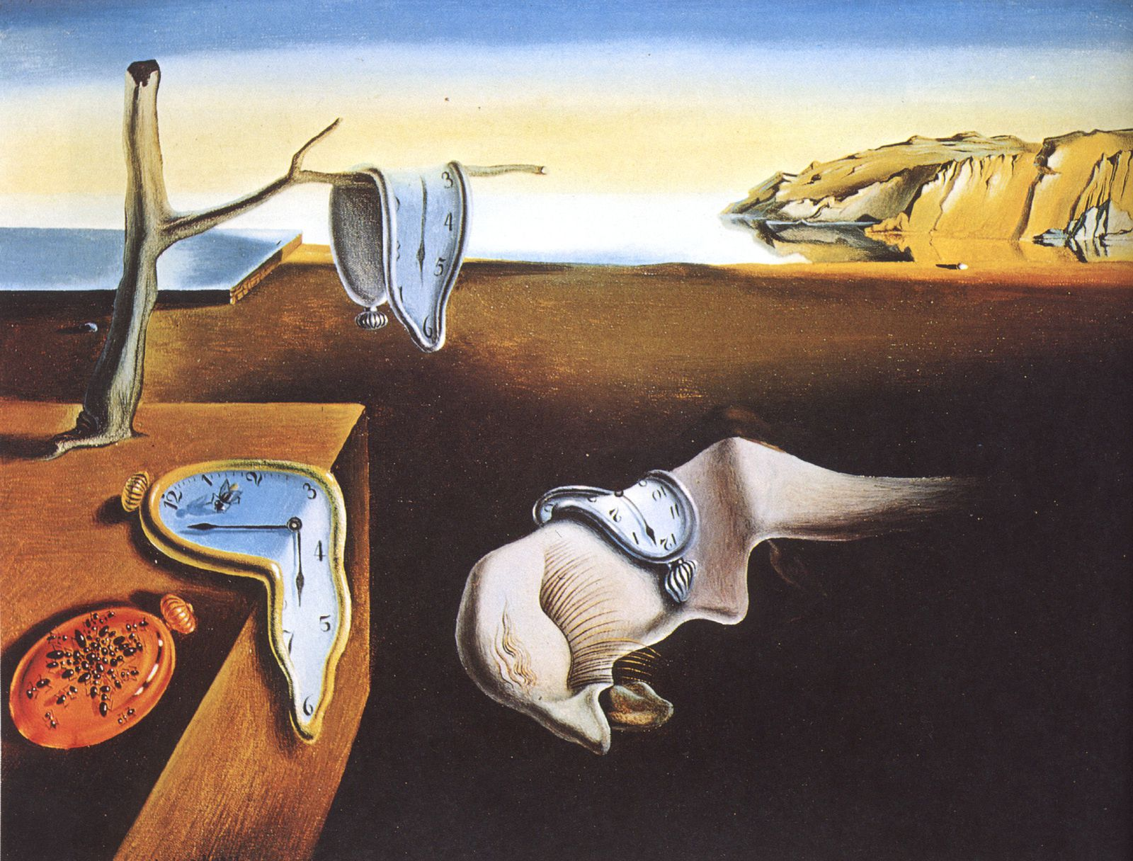 """The Persistence of Memory"" (1931) de  Salvador Dalí"