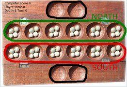 """"""" L'awalé ou awélé est un jeu de société combinatoire abstrait créé en Afrique.  C'est le plus répandu des jeux de la famille mancala, ensemble de jeux africains de type « compter et capturer » dans lesquels on distribue des cailloux, graines ou coquillages dans des coupelles ou des trous, parfois creusés à même le sol."""" &#x3B;  """" Appelé awelé ou awalé en Côte d'Ivoire et au Niger, jeu de six au Togo, adjito au Bénin, ce jeu trouve son origine dans l'antiquité. On y joue sur tout le continent africain, mais aussi aux Philippines, en Malaisie, au Ceylan, en Louisiane et au Brésil."""""""