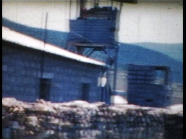 vue d'une partie avec les murs de défense.