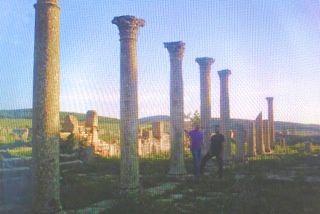 Les colonnes en 1959 toujours aussi belles aujourd'hui. enfin des vestiges bien entretenus, Bravo !