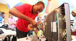 Congolenses virou mercado para técnicos de rádio