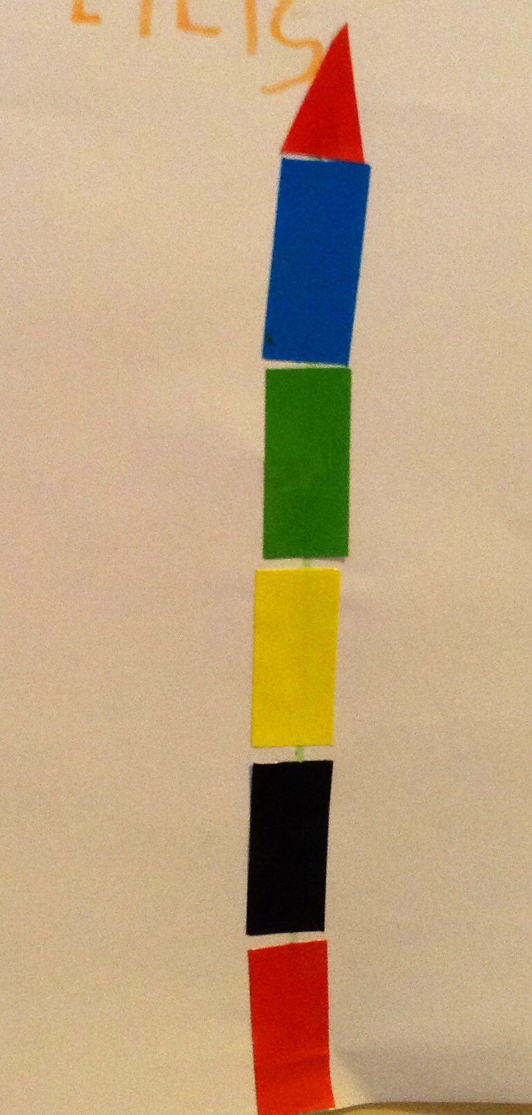 Les crayons en gommettes (et inversement) avec les enfants de moyenne section de maternelle