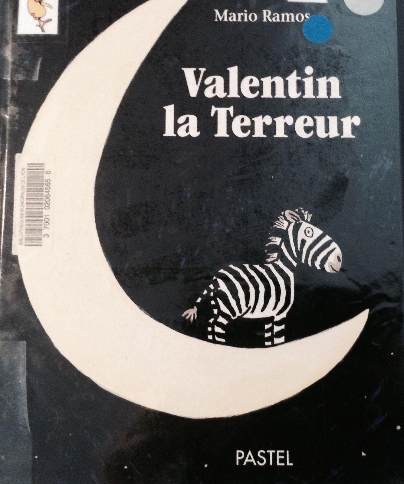 Valentin la terreur, un livre sur les dangers réels et imaginaires quand on est petit