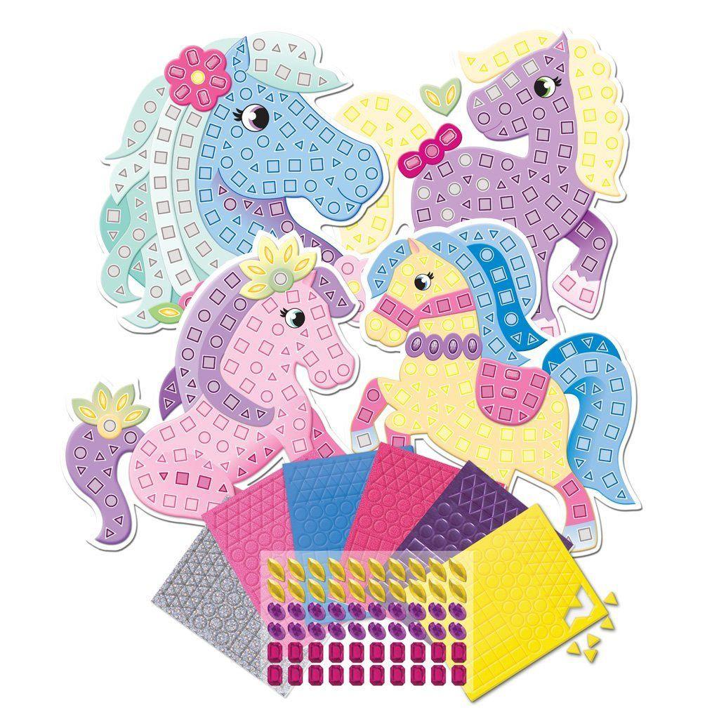 La mosaïque, version collage (avec les enfants de moyenne section de maternelle)