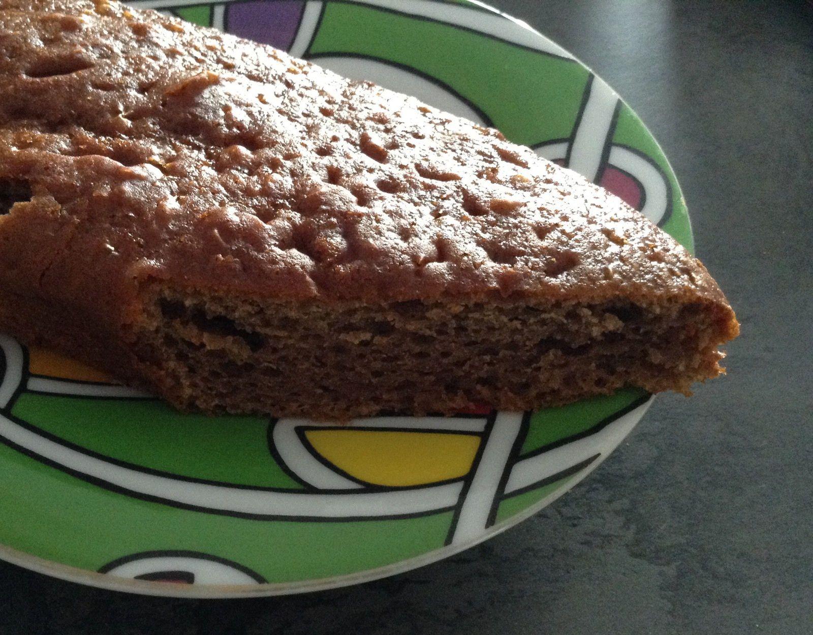 Les marrons version gâteau du goûter (avec les enfants)