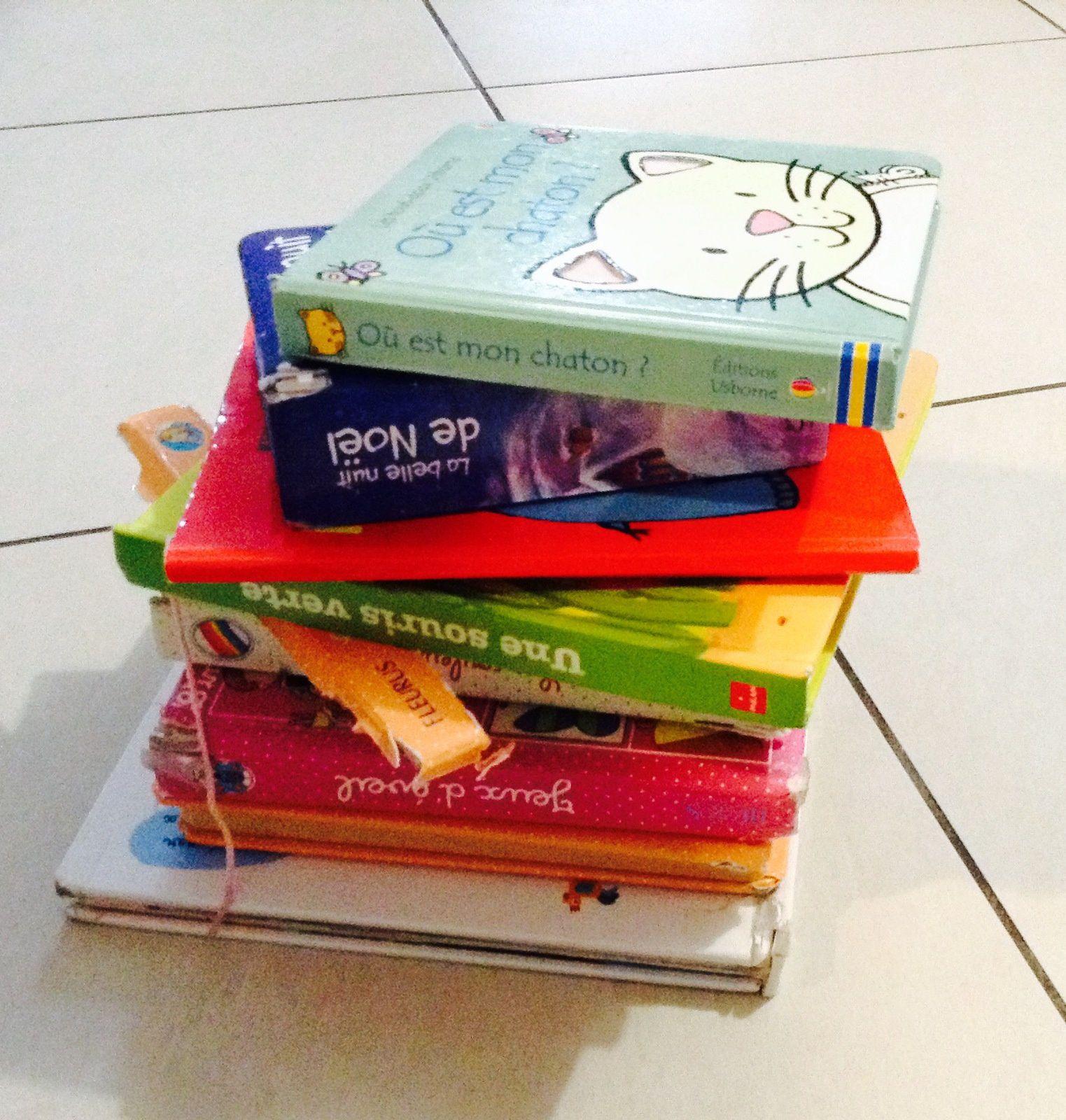 Le lourd tribut des livres pour enfants....c'est pour la bonne cause