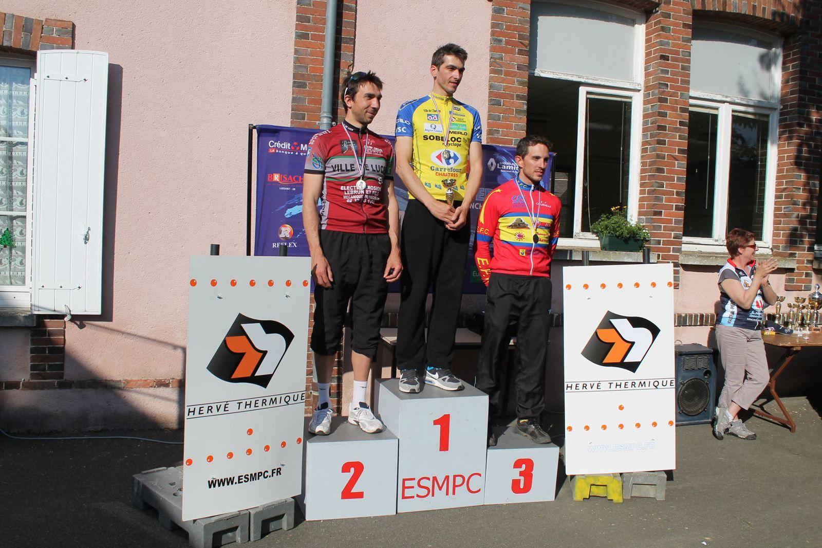 Le podium 28 des 3