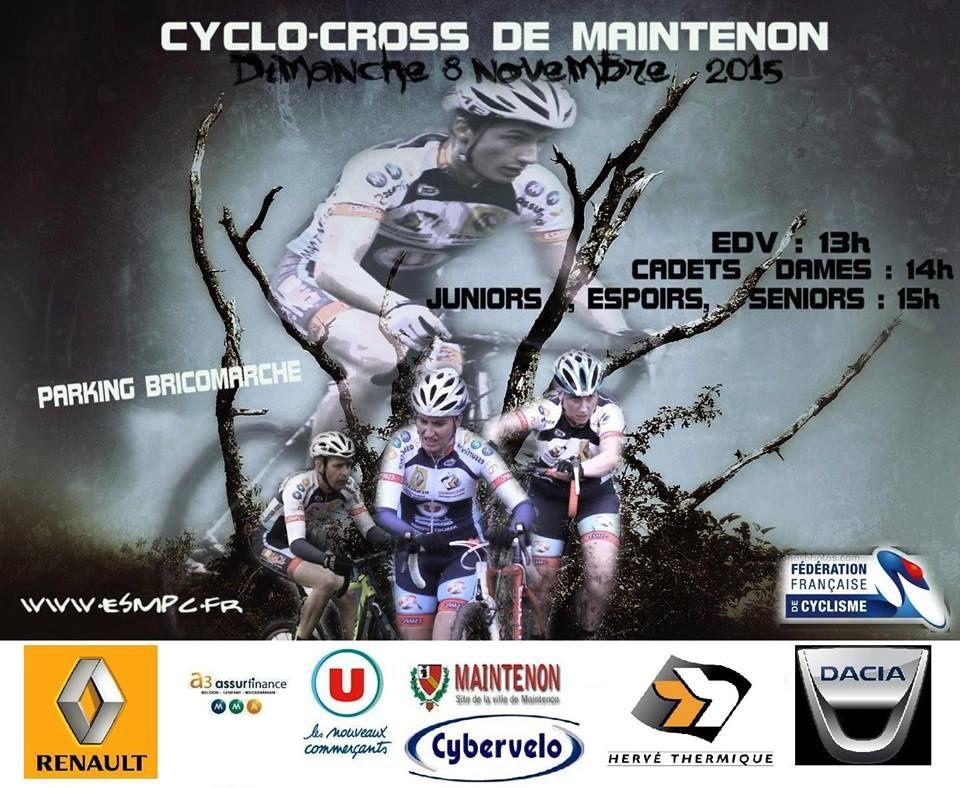 Affiches des 2 prochains cyclo-cross en Eure et Loir