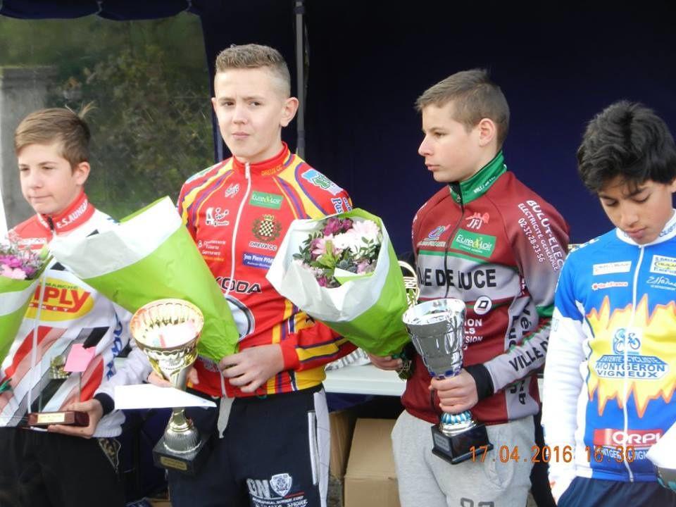 Les résultats complets des courses minimes et cadets de Hanches (28)