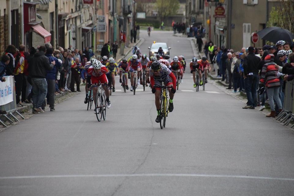 Photos d'arrivée des minimes au Merlerault (61)