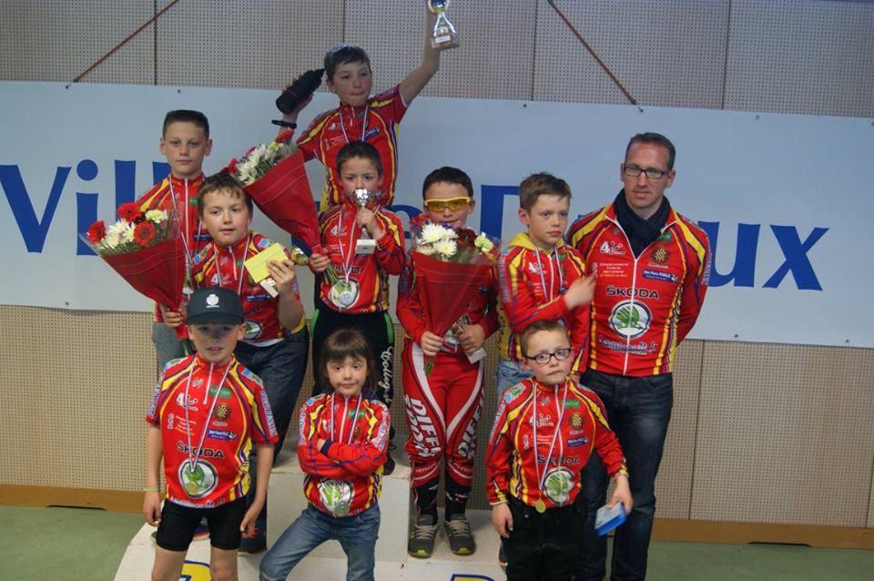 Les résultats de notre école de cyclisme à Dourdan (91)