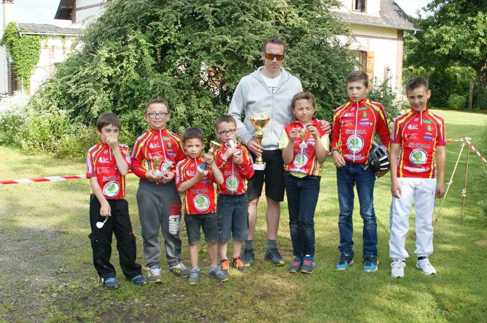 Nouveau prix d'équipe pour l'école de cyclisme ce samedi à Bemecourt