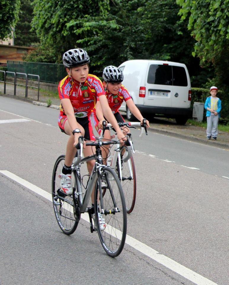 L'école de cyclisme au critérium de Dreux