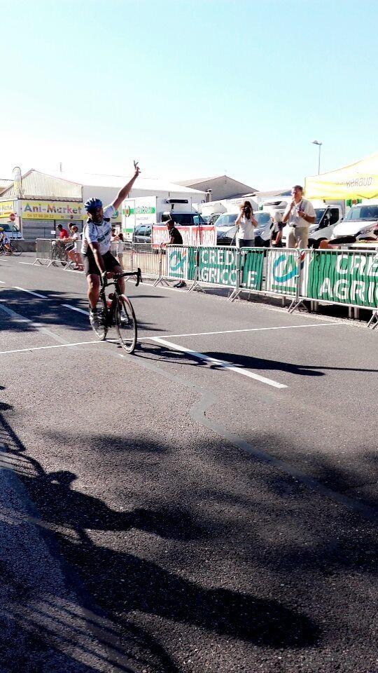 Martial Charre (VS Hyèrois) champion régional côte d'Azur des PC
