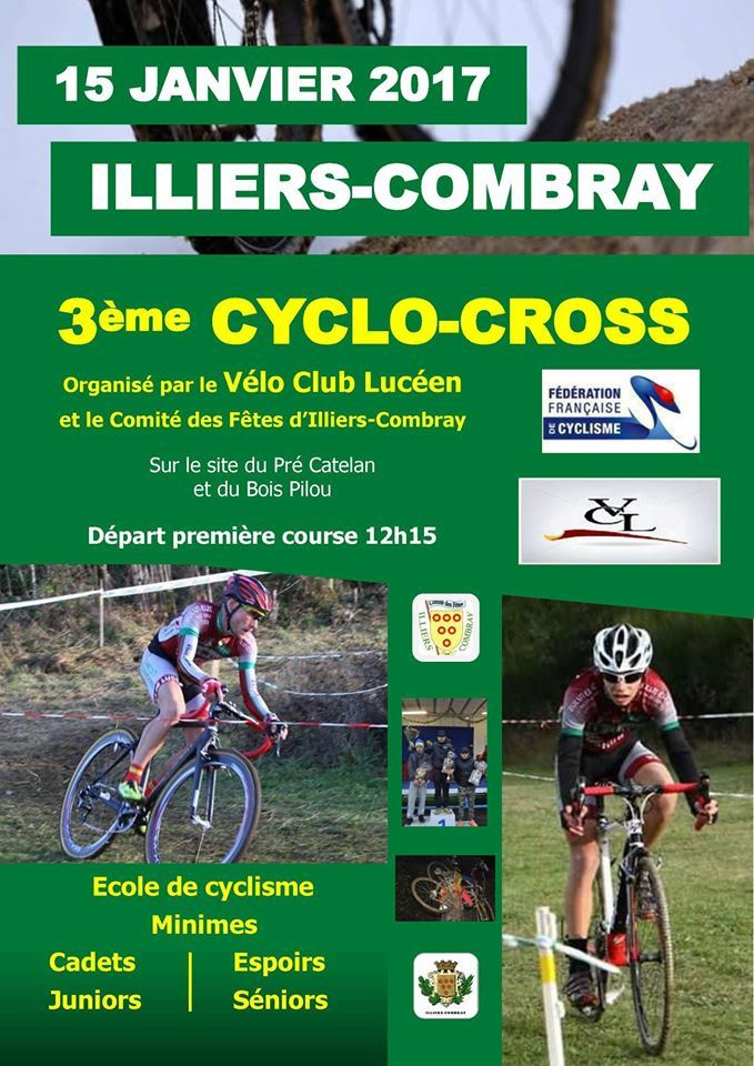 Cyclo-cross d'Illiers Combray (28) le 15/01/2017