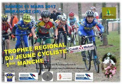 A 8 jours de la 1ère manche du Trophée Régional du Jeune cyclisme à Morancez (28)