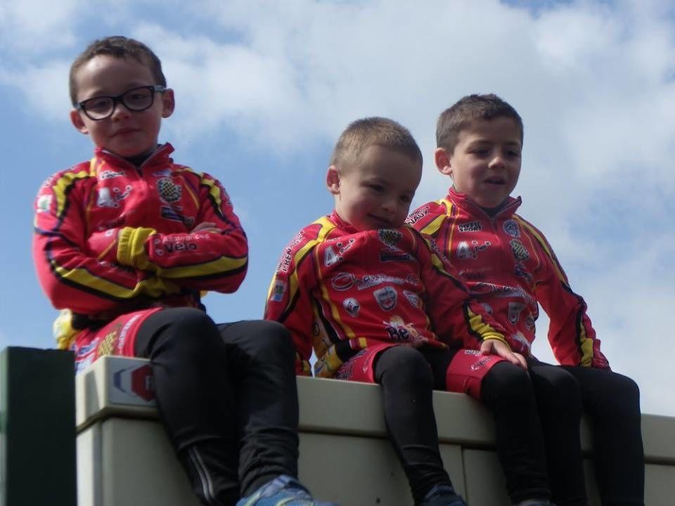 Deux nouvelles victoires pour nos jeunes à la réunion école de cyclisme de Palaiseau (91)
