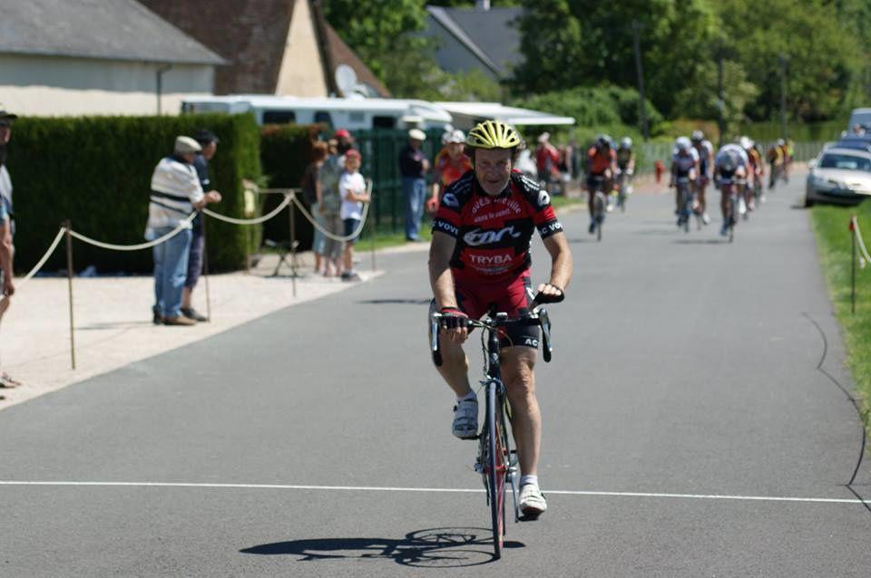 Daniel Galliot (AC Voves) vainqueu en GS