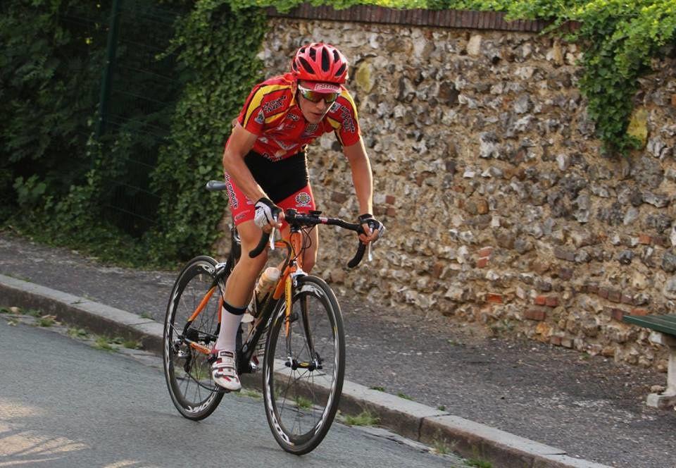Maxime Jolly  (Dreux CC) 3ème au championnat régional UFOLEP