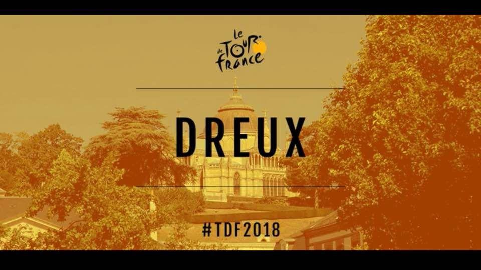 C'est officiel : Tour de France 2018, Chartres (28) ville arrivée et Dreux (28) ville départ
