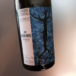 Grand cru Muenchberg Riesling 2007 André Ostertag