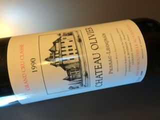 Chateau Olivier 1990
