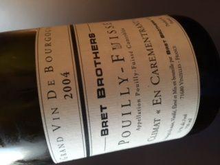 Pouilly fuissé En Carementrant 2004 Bret Brothers.