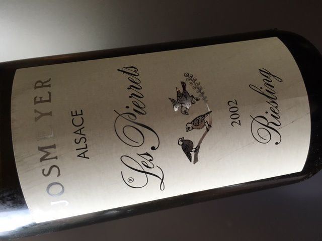 Alsace Riesling Les Pierrets 2002 Domaine Josmeyer